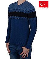 Зимний  свитер с орнаментом.Новая коллекция.