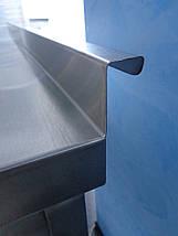 Мойка промышленная из нержавейки глубокая 1200/600/850 мм, фото 3