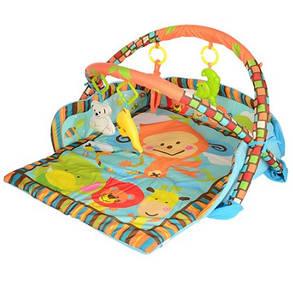Развивающий коврик для малышей с бортиками D106, фото 2