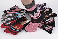 Женские Шерстяные носки с узором (Aрт. C279) | 12 пар