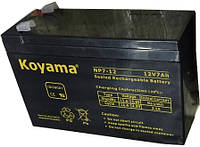 Аккумулятор KOYAMA NP 12V 7 Ah AGM для UPS ибп