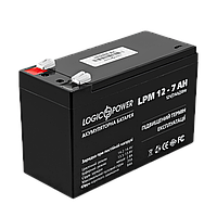 Свинцово-кислотный аккумулятор батарея LogicPower AGM LPM 12 - 7,0 AH