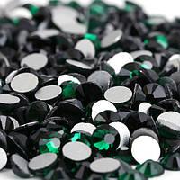 Стразы Emerald (изумрудный) SS16 холодной фиксации. Цена за 144 шт, фото 1