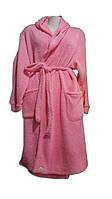 Махровые однотонные халаты
