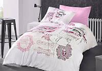 Полуторный комплект постельного белья, ранфорс