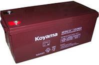 Аккумулятор KOYAMA NP 12V 200 Ah AGM для UPS ибп