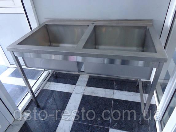 Ванна моечная производственная 1100/600/850 мм, фото 2