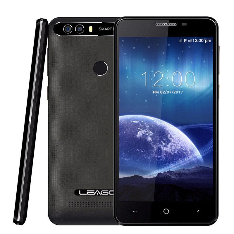 "Смартфон Leagoo KIICAA Power 2/16Gb Black, 8+5/5Мп, 4 ядра, 5"" IPS, 2 SIM, 4000мА"