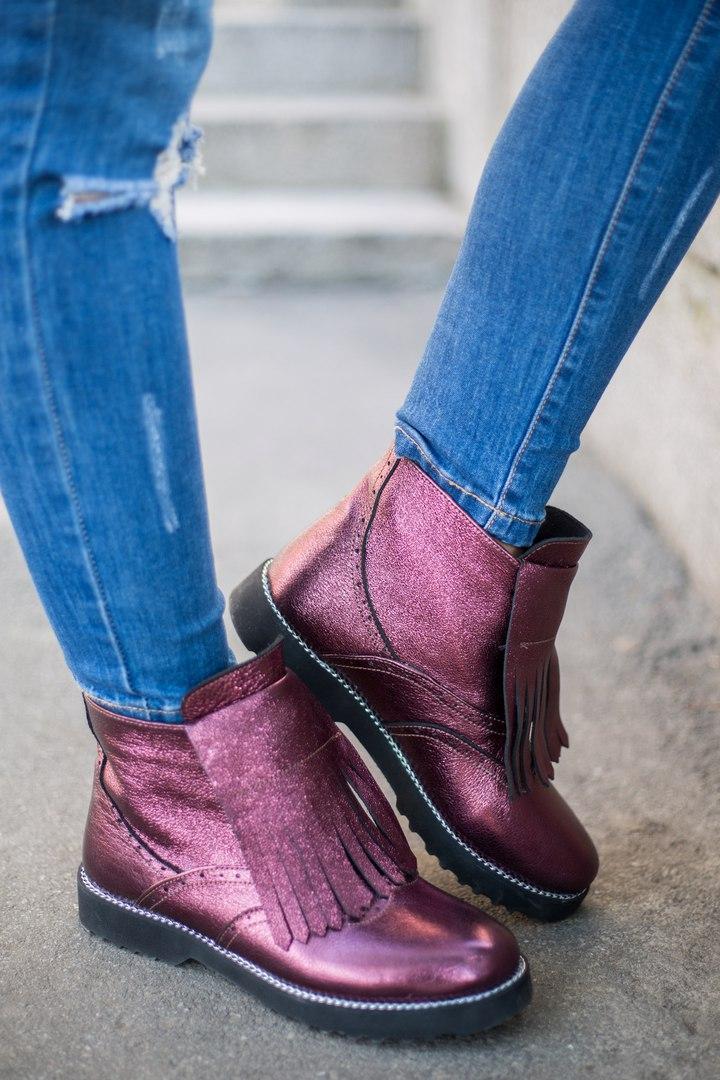 Ботинки-оксфорды