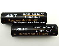 Аккумуляторная батарейка для сигарет  18650 AWT