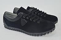 Женские замшевые туфли. Натуральная замша