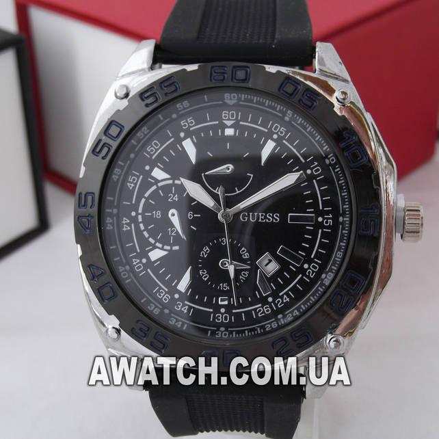 Мужские наручные часы guess описание купить часы силиконовые женские
