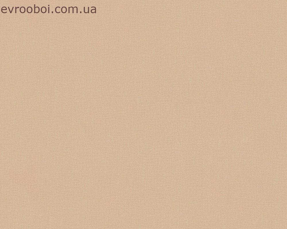 Обои пастельного цвета капучино, метровые 347744.