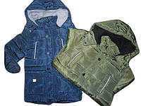 Куртка на синтепоне на меховой подкладке для мальчиков 8 лет, F&D арт. 853