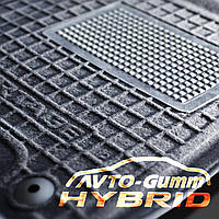 Коврики в салон FORD Explorer с 2014 г. гибридные (AVTO-Gumm Hybrid)