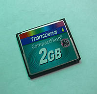 Карта памяти Compact Flash Transcend 2Gb 266x