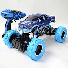 Джип машинка на радио управлении Rock Crawler синий Pick up 1:14
