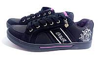 Женские кроссовки черного цвета 36 размер