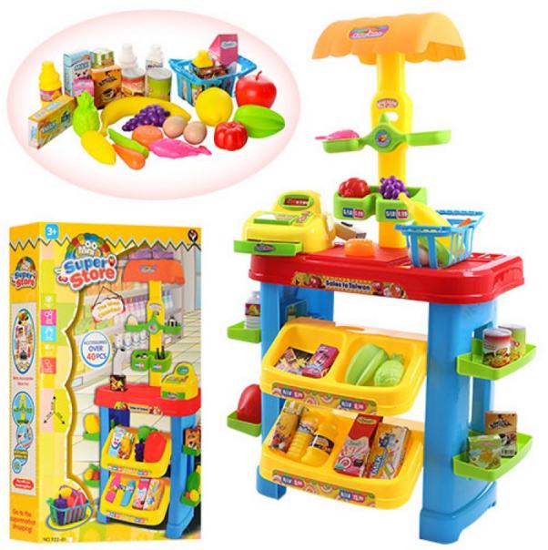 Детский игровой набор магазин.  Игрушка детский супермаркет.