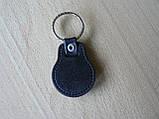 Брелок кожзам округлый HONDA  логотип эмблема Хонда автомобильный на авто ключи комбинированный , фото 5