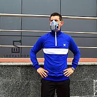 Олимпийка ТУР Zevs (кофта на змейке), синяя