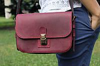 Кожаная женская сумка LILI. Ручная работа
