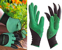 Перчатка с когтями для сада Garden Genie Gloves, садовая перчатка
