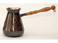 Турка медная 500 мл TUR8, кофейная турка, турка для кофе