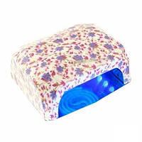 """Лампа УФ +Led (Лед) гибрид 36 Ватт """"Цветы"""" , лампа для маникюра"""