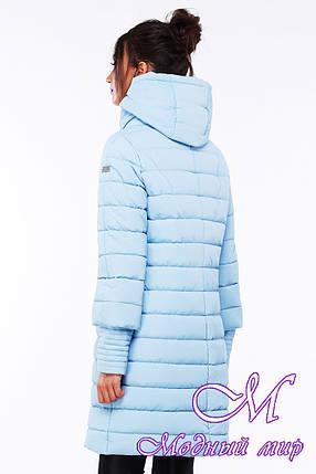 Длинная зимняя куртка больших размеров (р. 44-54) арт. Анетта, фото 2
