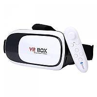 Виртуальные очки VR Box Pro 2.0 + Пульт ДУ, 360 градусов