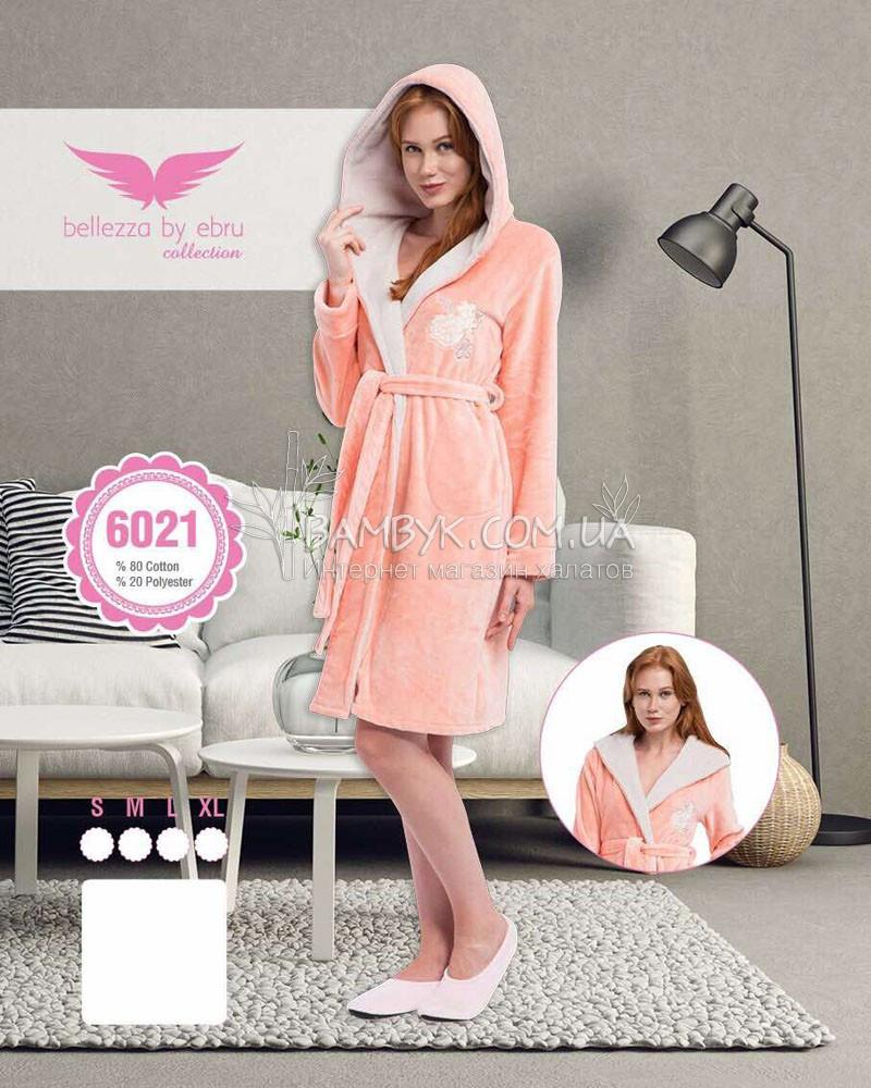 Халат теплый махровый Bellezza (женский) №6021