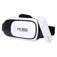 Очки виртуальной реальности и 3D VR Box 2.0 + с пультом ДУ