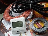 """Кабель в стяжку пола .коплект с цифровым  терморегулятором """"FENIX"""" 3.8 м.кв"""