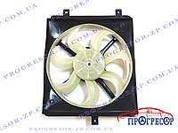 Вентилятор радиатора кондиционера (правый, 3 крепления) Geely MK Cross / 1602192180