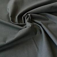 Бязь однотонная тёмно-зеленая ширина 150 см, фото 1