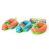 Водоплавающая игрушка для ванной, 2 вида, в кульке 66136AB