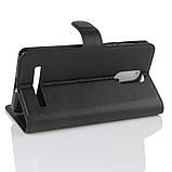 Чехол-книжка магнит для Leagoo M8 и M8 Pro  / Стекло оригинальное /, фото 6