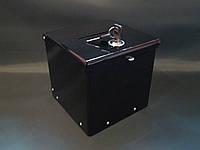Ящик для благотворительности 150*150*150 черный