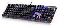 Светодиодная компьютера клавиатура KEYBOARD HK-6300  с подсветкой