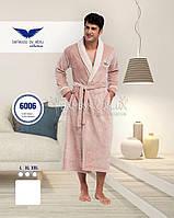 Спортивный мужской халат Bellezza (пушистый) №6006