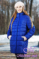 Свободная женская зимняя куртка больших размеров (р. 44-64) арт. Марелла