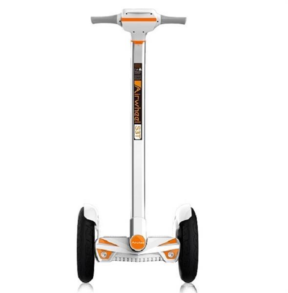 Гироборд AIRWHEEL S3T+ 520WH (белый/оранжевый)