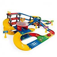 Wader Мультипаркинг с дорогой Kid Cars 3D (53070)