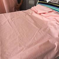 Бязь персиковая однотонная ширина 220 см, фото 1