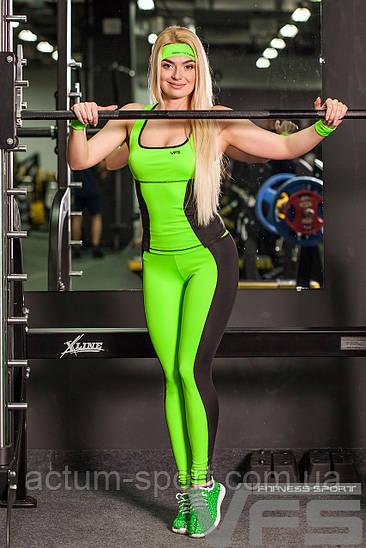 Костюм для фитнеса (майка + лосины) Cross PRO