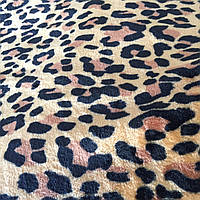 Махра велсофт с леопардовая, фото 1
