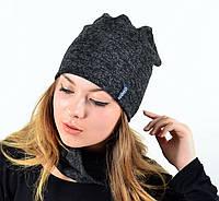 "Комплект ""Ангора"" хомут-шапка с флисом , фото 1"