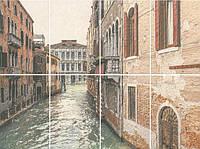 Панно Kerama Marazzi Две Венеции Золотой пляж NT\A190\8x\8262 Venezia, панно из 8 частей 20х30
