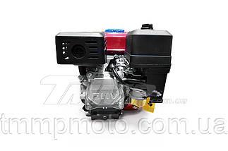 Двигатель мотоблок 170F  d=25mm под шлиц  (7,5 HP, датчик масла , бумажный фильтр), фото 3